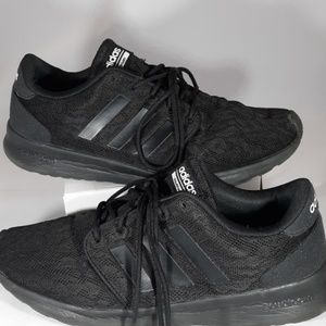 Adidas black sneakers with cloudfoam size 8.5 US